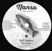 SALE ITEM: Earl Sixteen - Run Away (Nansa Records) UK 12""